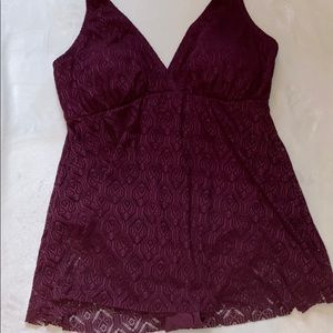 Swimsuits for All swim dress size 24